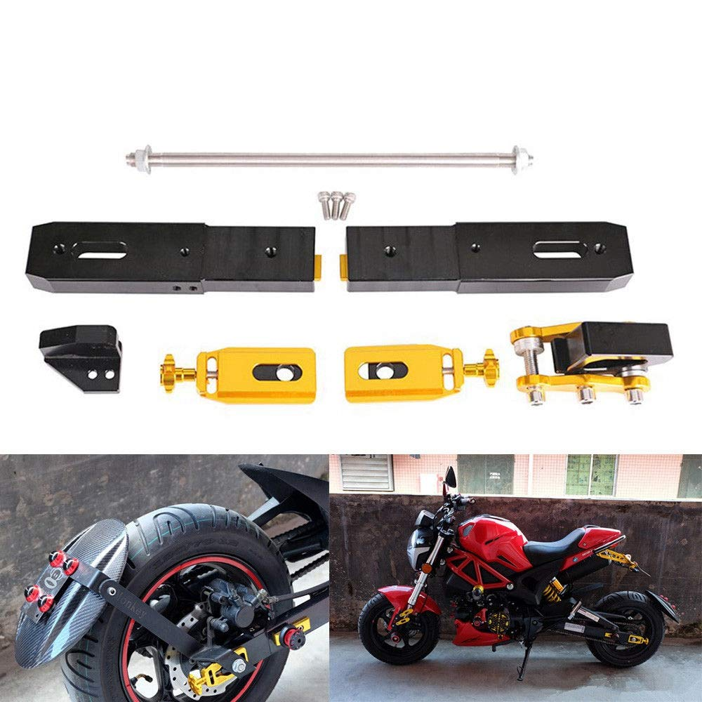 XuBa Motorcycle High Strength Rear Fork Extension Stretch Kit for Honda Grom Msx125