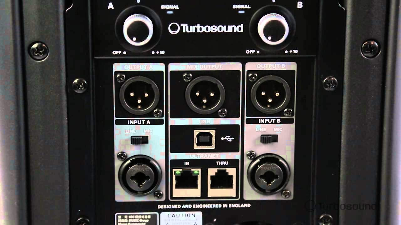 Amazon.com: Turbosound IQ 15 w/Carry Bag. 2500 Watt 2 Way PA ...