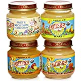 Earth's Best Organic 2nd Fruit Variety Pack, 4-Ounce Jars (Pack of 12)
