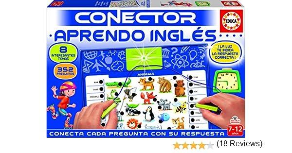 Educa- Conector Aprendo Inglés Juego Educativo para niños, a Partir de 7 años (17206): Amazon.es: Juguetes y juegos