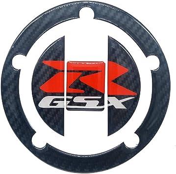 Carbon Fibre Finish Centre Tank Protector Pad Suzuki GSXR1000 GSXR750