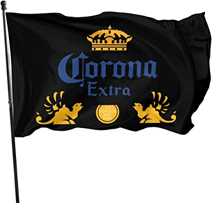 Amazon Com Corona Extra Beer Garden Flag Decorations For Home Decor House Yard Outdoor Party Supplies Sports Outdoors
