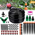 "Philonext Drip Irrigation, Garden Irrigation System, Adjustable Automatic Micro Irrigation Kits,1/4"" Blank Distribution Tubing Hose Suit for Garden Greenhouse, Flower Bed,Patio,Lawn"