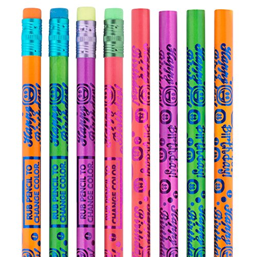 Thermo Color-Changing Happy Birthday Pencils - Prizes and Giveaways - 50 Per Pack