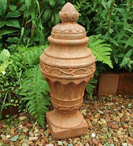 Trofeo Jardín Estatua Terracota Jardín Figura Antiguo Estilo Rústico Jardín Decoración 30 cm H. Dr de 1104: Amazon.es: Jardín