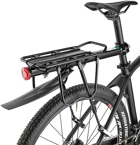 ROCKBROS Portaequipajes Trasero para Bicicleta Liberación rápida ...