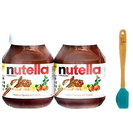 Amazon Com Nutella Hazelnut Spread 2 Jars 33 5 Oz Each