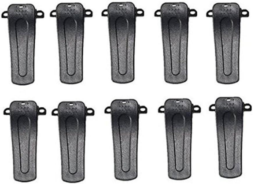 20Pcs Belt Clip for Baofeng 666S 777S 888S Retevis H777 Walkie Talkie Radios