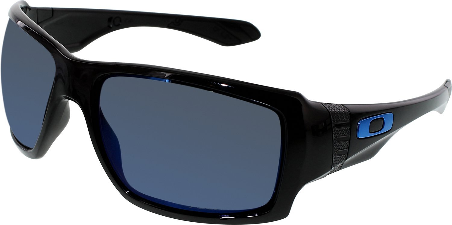 fda4d851fbc9e Amazon.com  Oakley Men s Mirrored Big Taco OO9173-06 Black Rectangle  Sunglasses  Oakley  Health   Personal Care