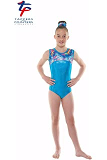 67b7e79c0992 Tappers & Pointers Gymnastic sleeveless leotard Gym-22 (MADE IN UK ...