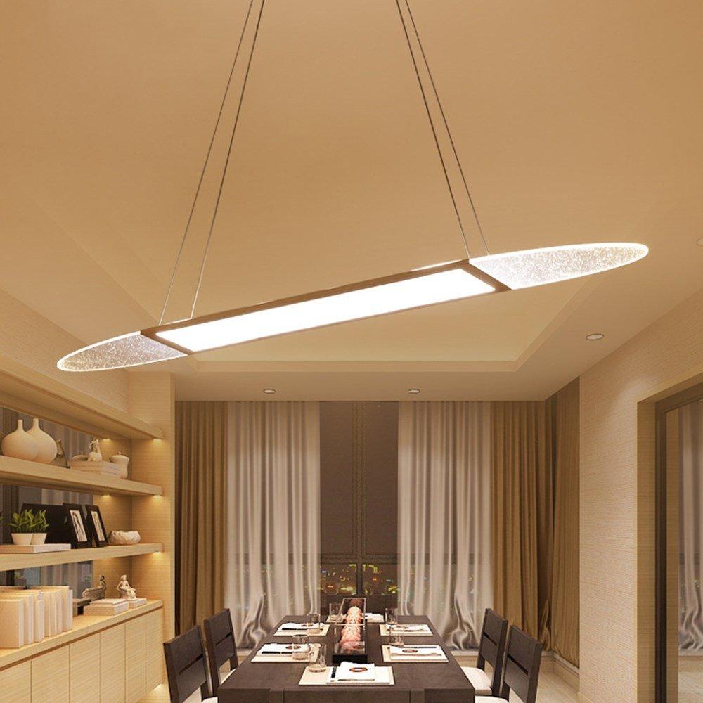 5151BuyWorld Lampe  LED Anhänger Moderne Lichter Raum Für Esszimmer Colgantes Pendientes Hängelampe Beleuchtung Pendelleuchte Top Qualität {Kühles Weiß Keine Fernbedienung & D80 CM 26W}