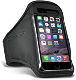 iPhone SE 5 5S Black Armband Case Cover for Running Sports GYM Workout