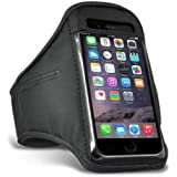 TypeandColor® Sports Running Adjustable Armband For Apple iPhone 6 6S Phone Case Cover Pouch Sleeve Gym Exercise Key Holder