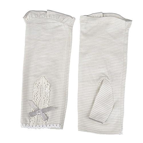 Kenmont verano las mujeres al aire libre dama Uv guantes de conducción protección manoplas
