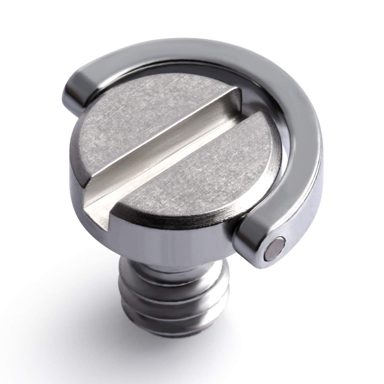 FayOK 1//4 Screw with D Ring Compatible for Camera Tripod//Monopod//Quick Release Plate