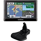"Garmin nuvi 55LM Essential Series GPS System w/ Lifetime Maps 5"" Display (010-01198-01), & Garmin Friction Mount Bundle includes: nuvi Essential Series GPS Nav. System & Portable Friction Mount"