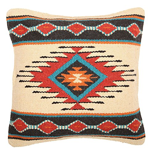Throw Pillow Covers, 18 X 18, Hand Woven in Southwest and Na