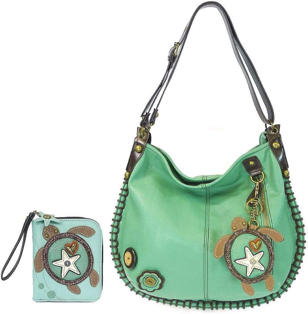 CHALA Sea Turtle Zip-Around Wallet/Wristlet Gift Set