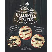 Disney Monstober Halloween Recipes: Calling All the Monsters, It's Time to Experience a Disney Halloween