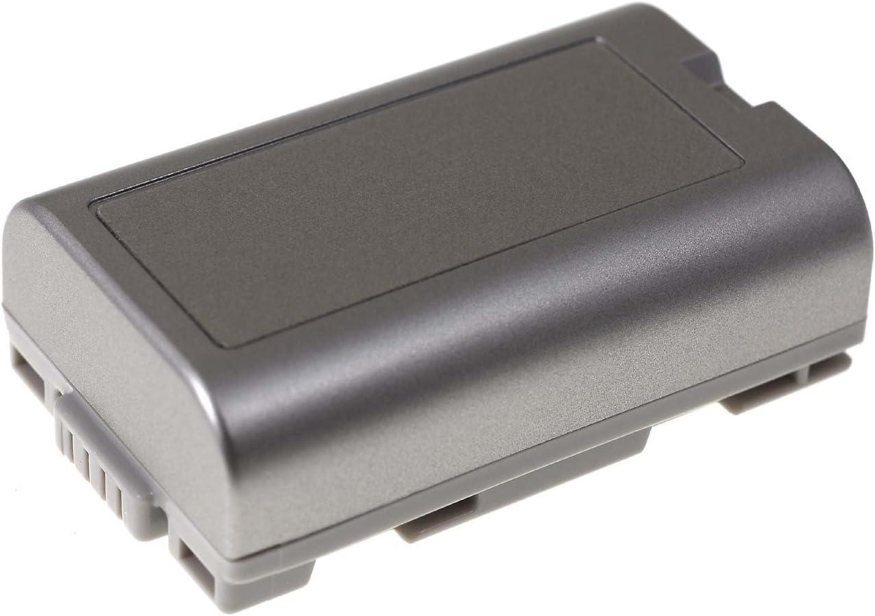 7,2V Li-Ion batterie compatible pour Panasonic NV-DS60 1100mAh argent 7,9Wh
