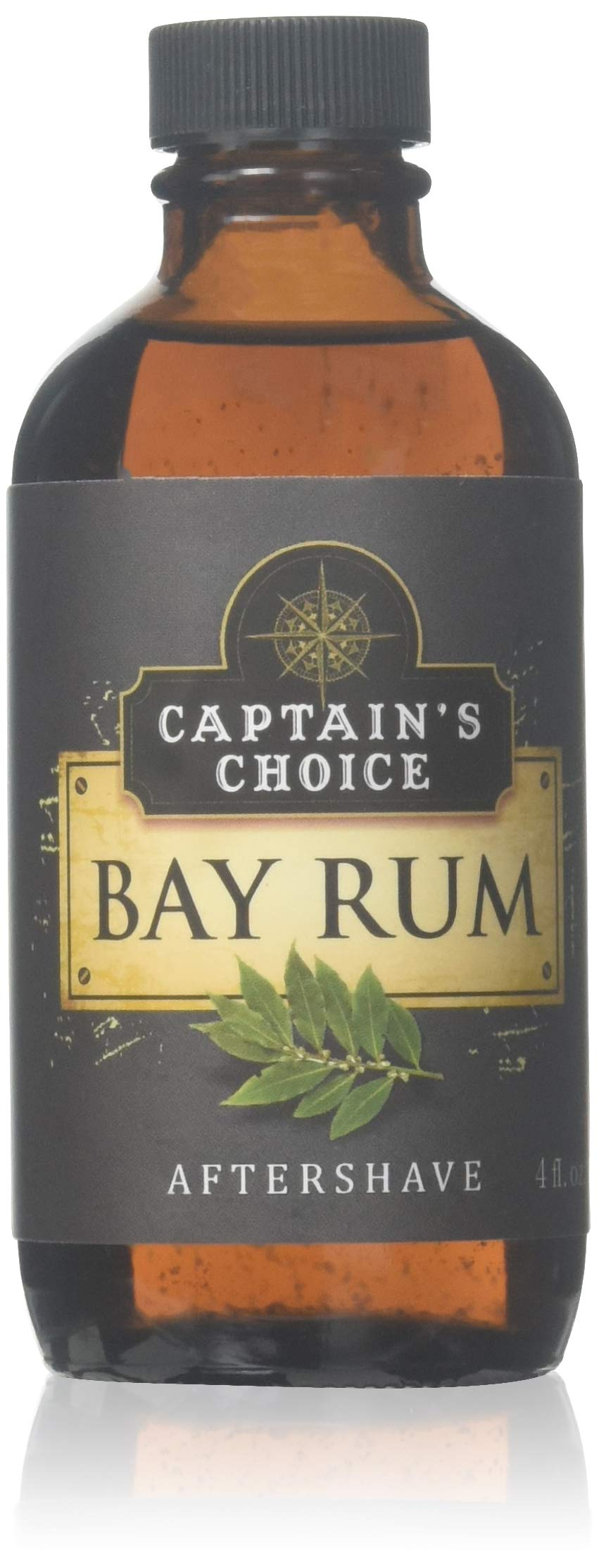 Captain's Choice Original Bay Rum 4.0 oz After Shave Pour