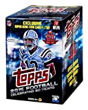 football cards rare - 2015 Topps NFL Football EXCLUSIVE Factory Sealed Retail Box with Special Commemorative SUPER BOWL COIN! Includes ROOKIE in Every Pack! Look for RC & Autographs of Jameis Winston,Marcus Mariota & More!