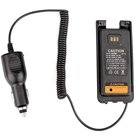 New Car Charger Battery Eliminator for Retevis RT3 TYT MD-380 Radios US Stock