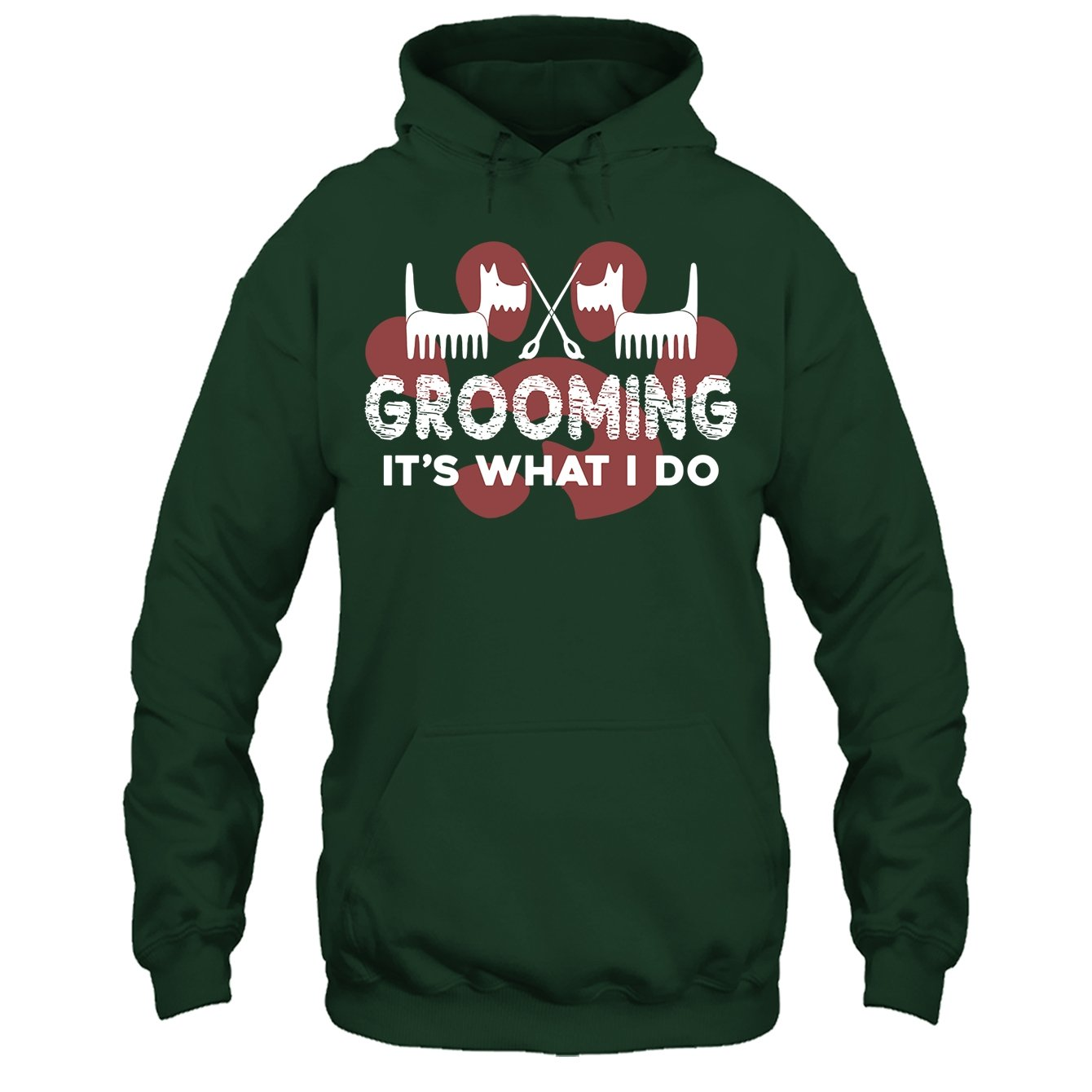 Grooming Its What I Do Tshirt Addblue Dog Grooming Cool Tee Shirt