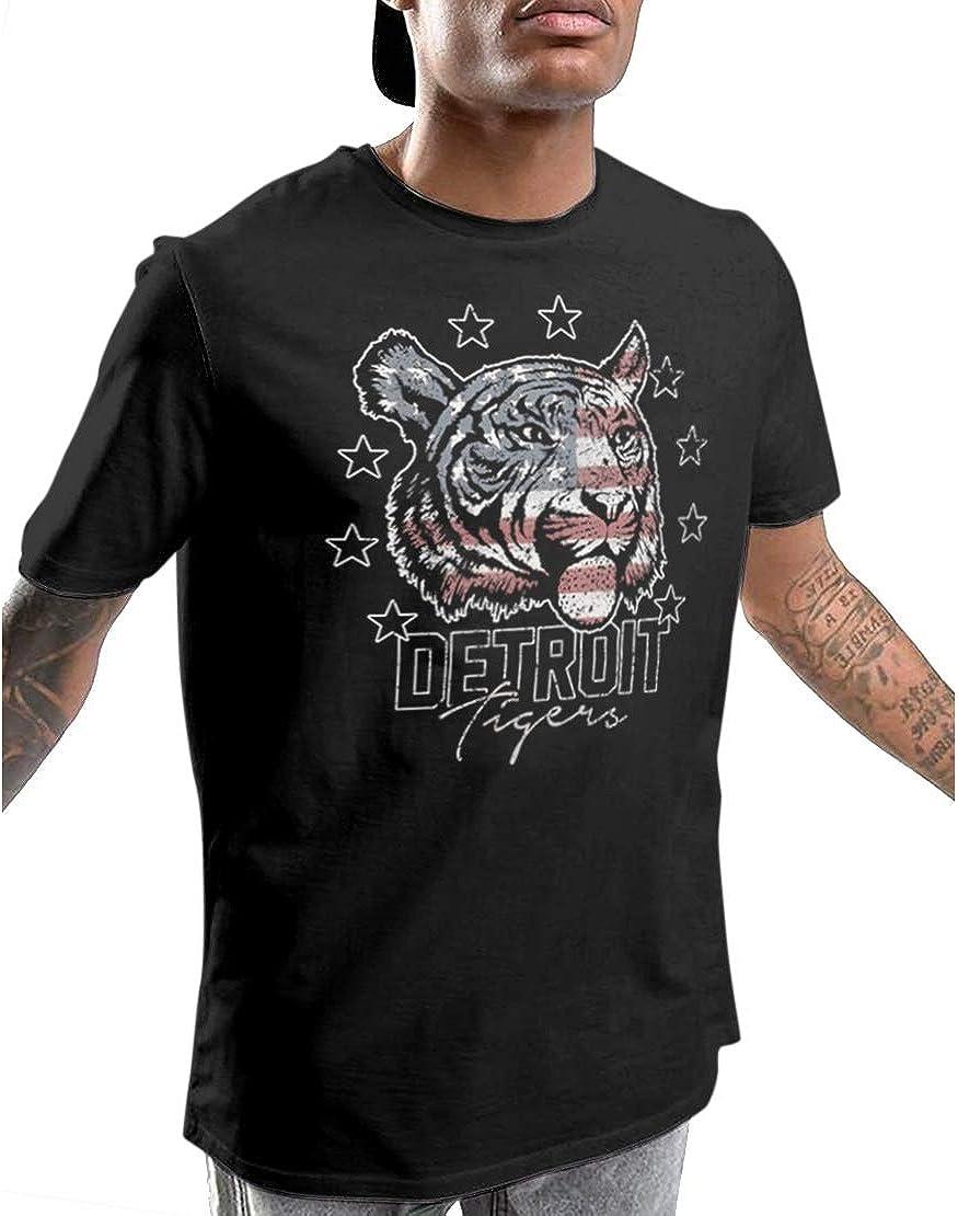 Fashionkilla - Camiseta Modelo Detroit Tigers para Hombre (XXL) (Negro): Amazon.es: Ropa y accesorios
