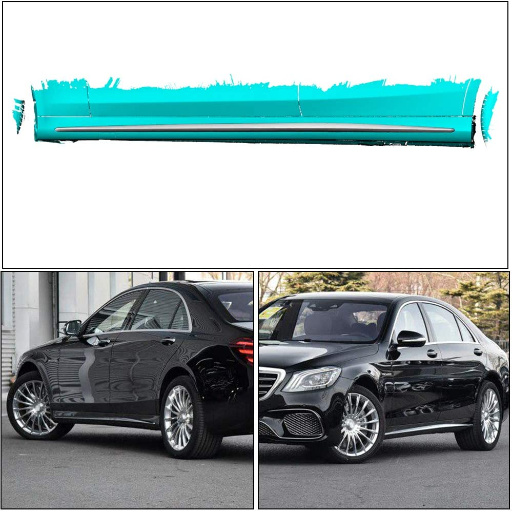 MCARCAR KIT Side Skirts fits Mercedes Benz S Class W222 Sport S63 ...
