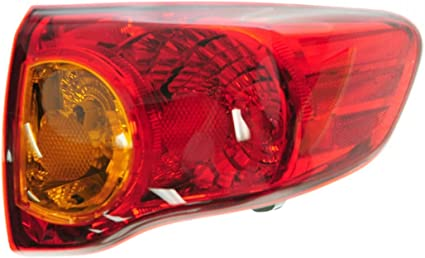 Tail Light Brake Lamp Assembly Rear Passenger Side Right RH
