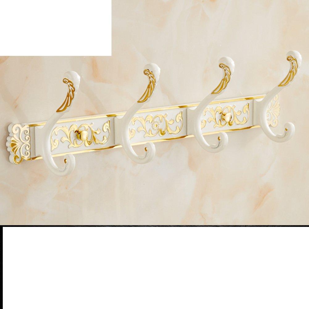 free shipping European-style bathroom hooks/Wardrobe clothes towel hook/ wall-wall hooks/row hook-K