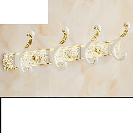 ganchos de baño de estilo europeo/Gancho de la toalla del ropa de armario/