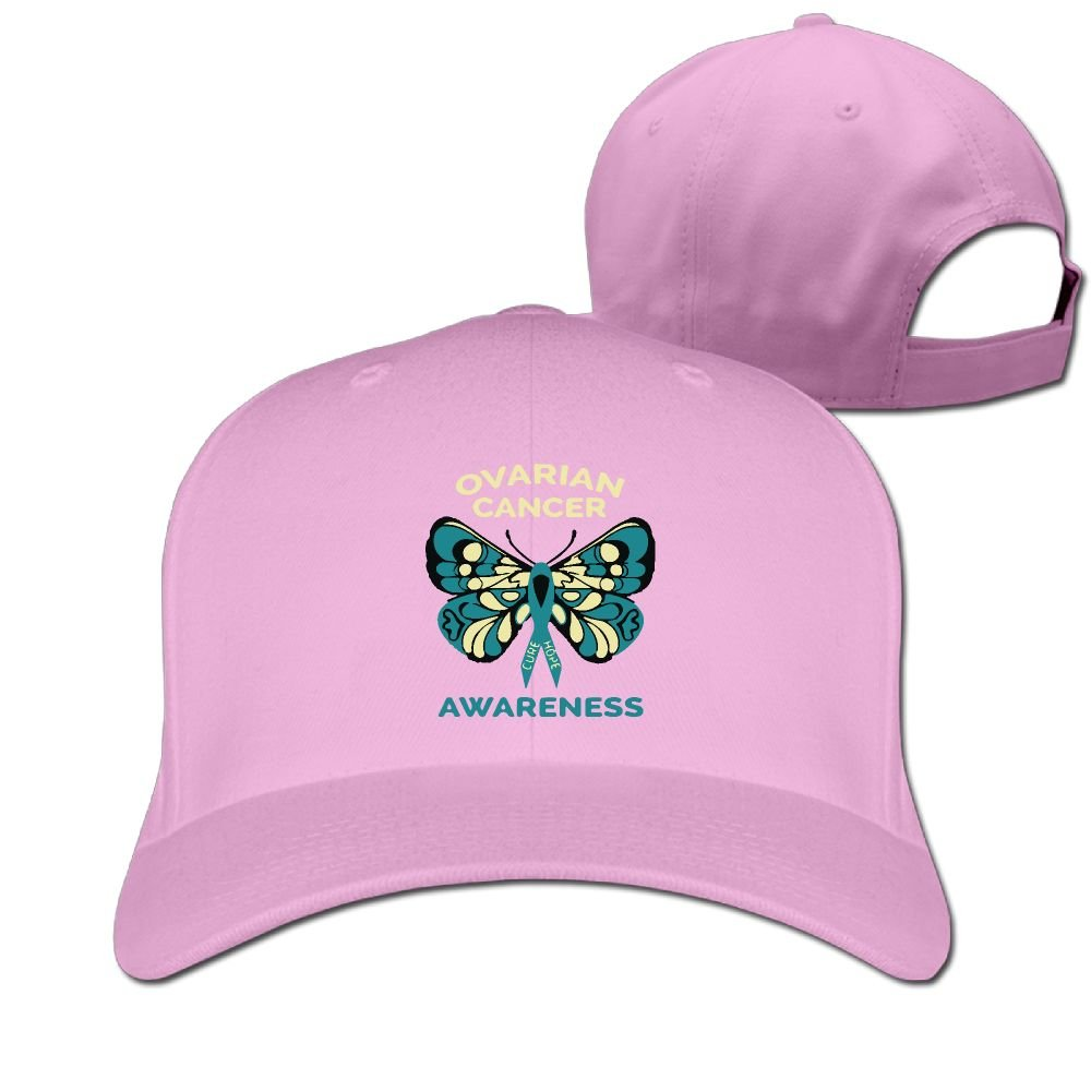 de6eb1aa3ff3c MMKOBD8D Ovarian Cancer Awareness Unisex Pure Color Baseball Cap Classic  Adjustable Visor Hat at Amazon Men s Clothing store