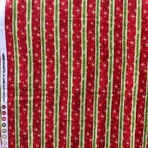 Debbie Mumm for JoAnn Craft Stores Chrismas Cotton Flannel Fabric 15.75 Yd