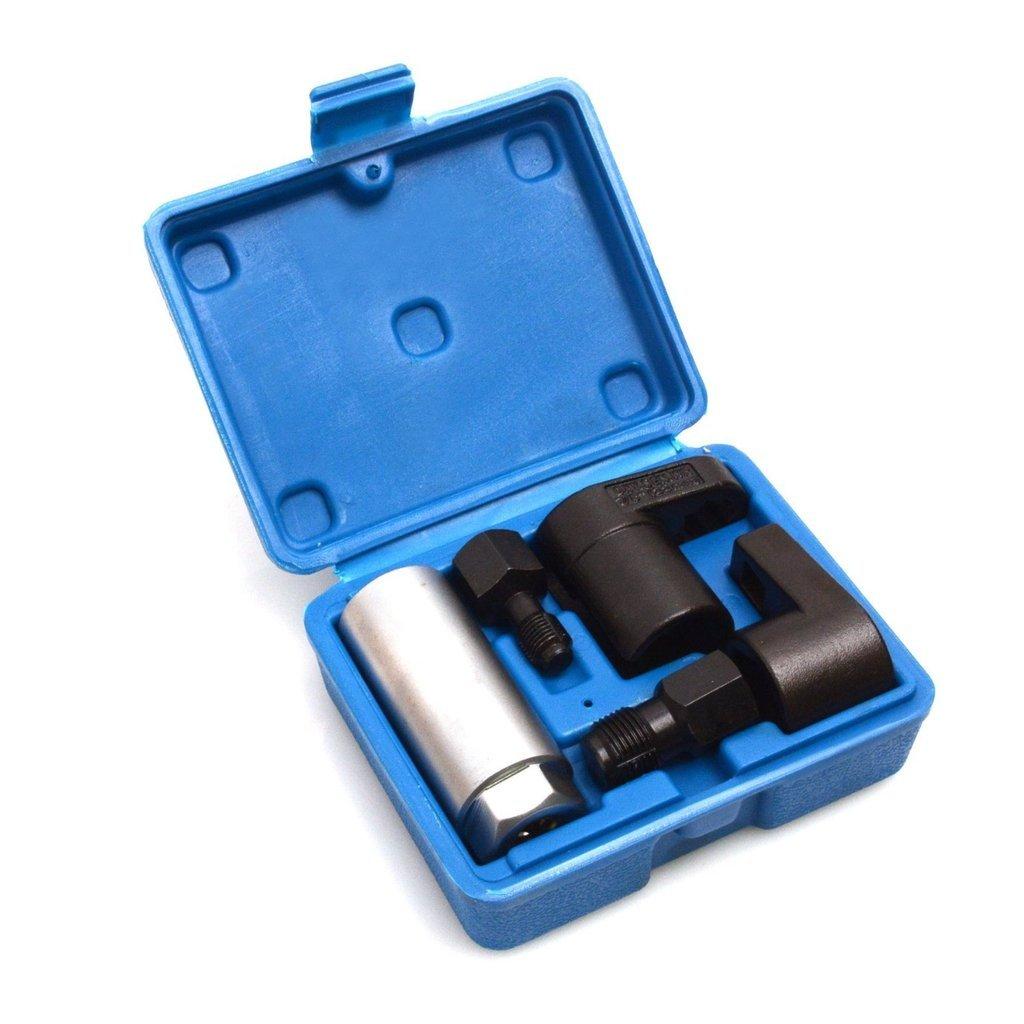 SUPERCRAZY 5PCS Oxygen Sensor Socket With Thread Chaser Tool Set SC0165 SUPER TOOLS