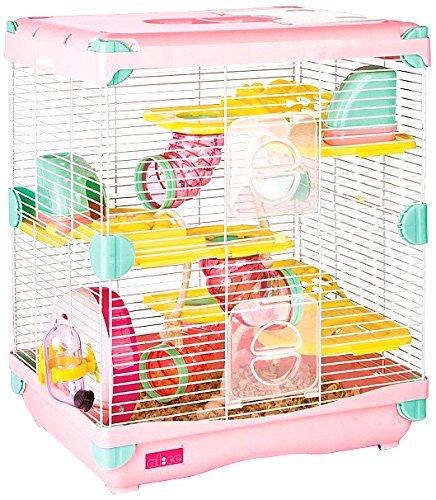 Exploration Land Hamster Cage, 360 x 270 x 425 cm, Pink