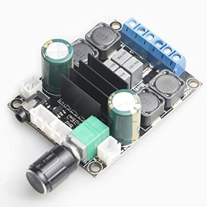 Amazon com: DAMGOO Digital Amplifier Board,50W+50W TPA3116