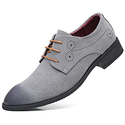 Amazon.com | AARDIMI Men's Classic Oxford Dress Shoes Business Casual Shoes Formal Wedding Shoes | Oxfords