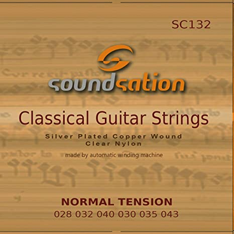 Cuerdas para guitarra clásica española SOUNDSATION SC132 tensión ...