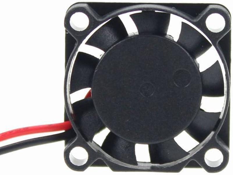 Microventilador con 9 aspas 2507, CC de 12V, 0,07A, 25x25x7mm PH2.0-2Pin