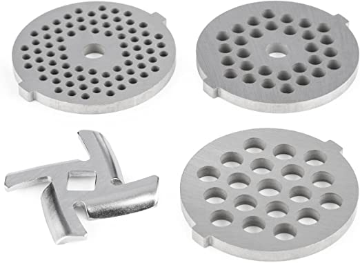 Klarstein set de 4 discos perforados para la máquina de cocina ...