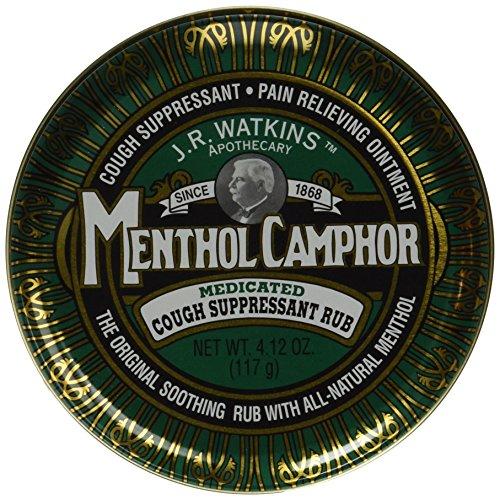 Ointment Menthol - JR Watkins Original Menthol Camphor Cough Ointment/Rub 4.1 oz
