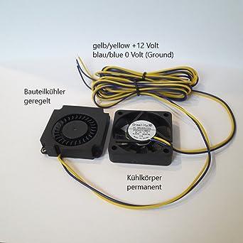 creality 3d: 4010 Original Ventilador (2 pieza) para la serie de ...