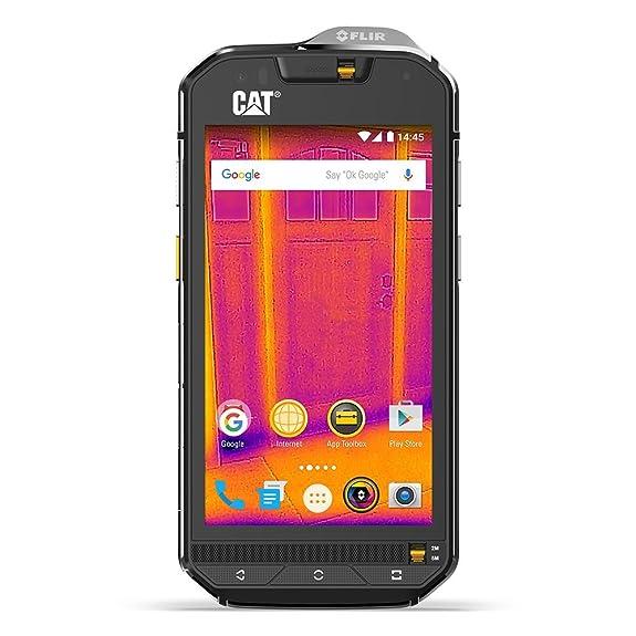 Caterpillar CAT S60 32GB Dual SIM Factory Unlocked Thermal Imaging Rugged  Smartphone (Black)
