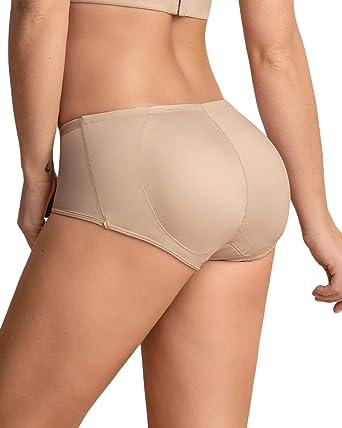 1 Pair Women/'s Removable Enhancing Hip Lifter Foam Fake Butt Bum Underwear Pads