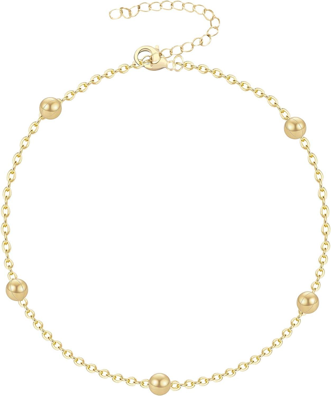 Figaro chain bracelet Layering Bracelet Silver link chain bracelet Basic Chain Bracelet Thin Chain Bracelet Stacking bracelets