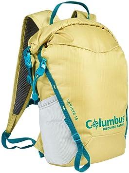 COLUMBUS Mochila Lariste, para Desplazamientos en Moto, Bici, Deportes al Aire Libre o el Día a Día. Capacidad 15 L. Color Verde.