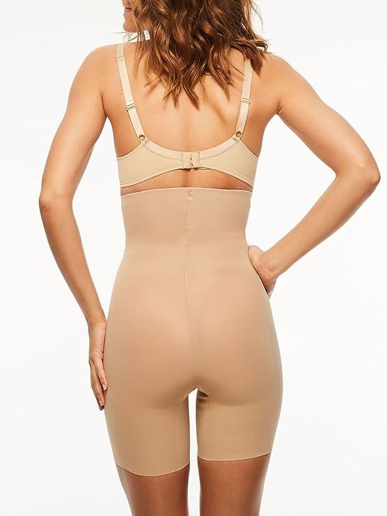 9003df0e48da46 Chantelle Women's Basic Shaping High Waist Mid-Thigh Shaper at Amazon  Women's Clothing store: