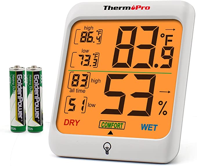 3s NEW Digital Thermometer Professional 2 doors and 2 probes to Thermo tm-82n